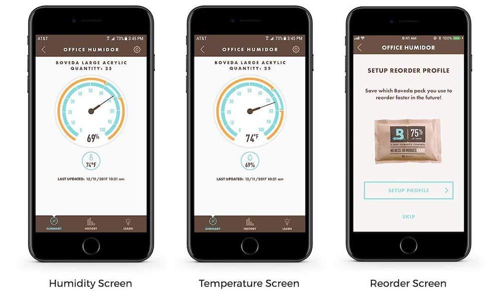 Boveda Smart Sensor App