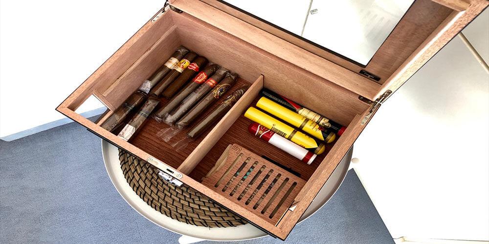 Humidor für 100 Zigarren Test